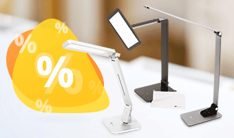 Discounts on TaoTronics LED Lamps Now On!